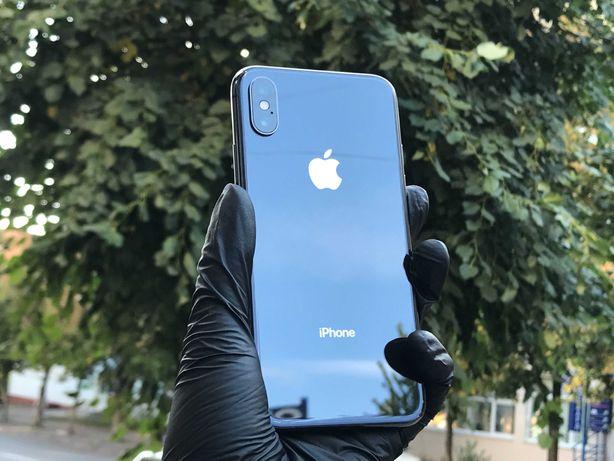 iPhone X 64gb Space Grey, отличное состояние, гарантия, комплект