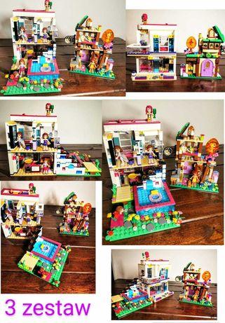 Lego Friends,  Mega Zestaw - Dom gwiazdy pop Liv,Gospoda pod gwiazdami