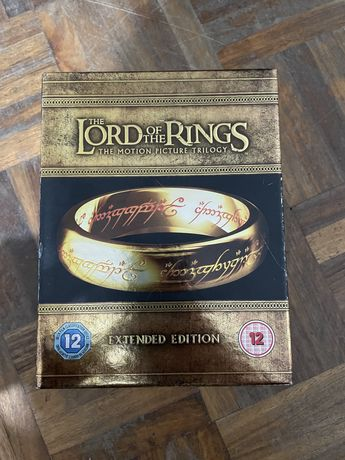 Lord of the Rings trilogia Blu ray Extendida