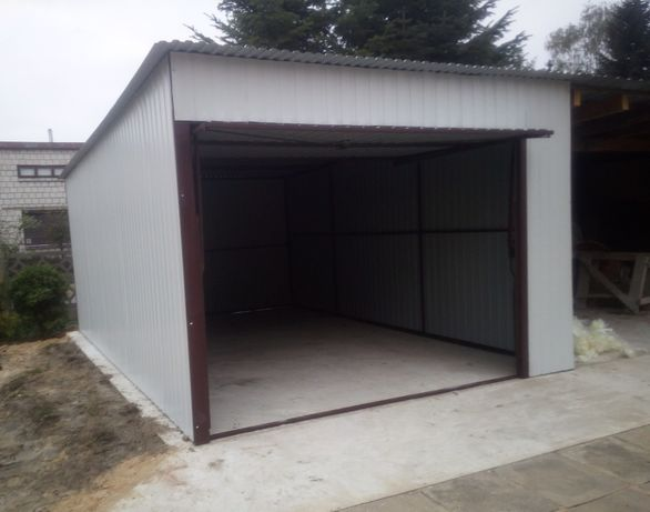 GARAŻ BLASZAK Producent! wiaty bramy schowki garaże blaszaki blaszane