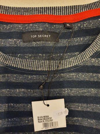 Nowa z metką męska bluza Top Secret