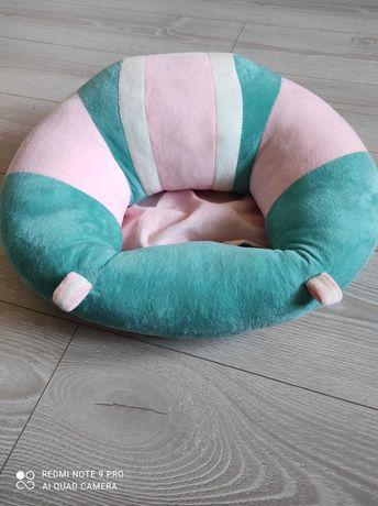 Pluszowe siedzisko do nauki siedzenia