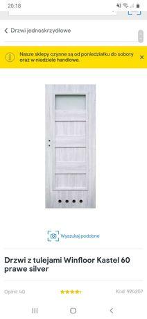Drzwi prawe kastel silver
