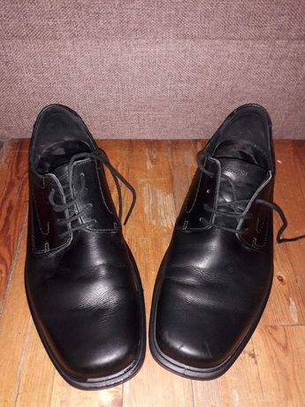 Мужские Итальянские кожаные туфли.