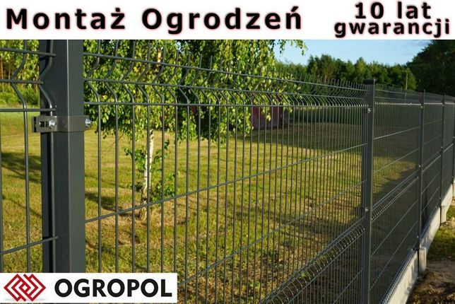 Panele ogrodzeniowe , ogrodzenia panelowe montaż RAL PROMOCJA !!! 2.0m