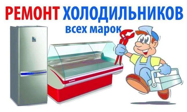 Срочно! Ремонт холодильников, мороз. оборуд-я. Установка кондиционеров