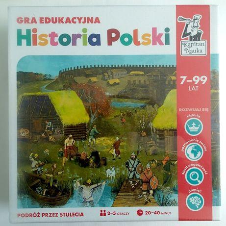 Edukacyjna gra planszowa Historia Polski