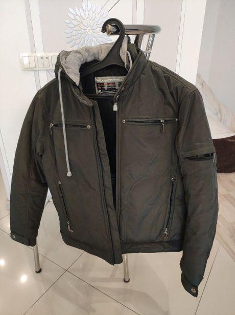 Почти новая куртка на подростка ростом 150-160см, евро-зима