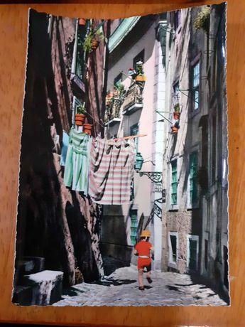 2 postais da cidade de lisboa dos anos 60