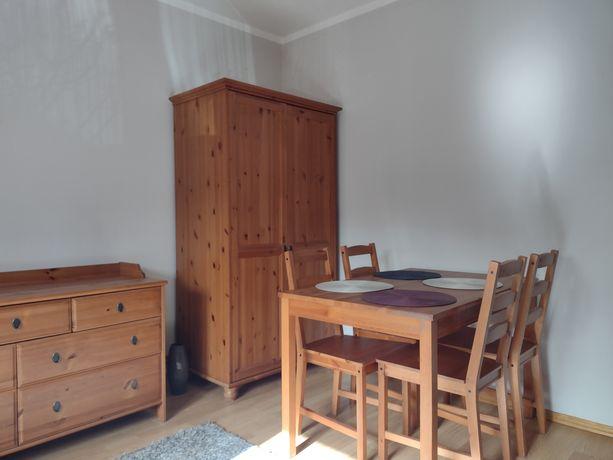 Komplet mebli drewnianych IKEA