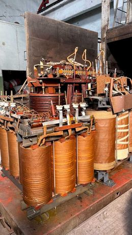 Ремонт силовых трансформаторов масляных сухих