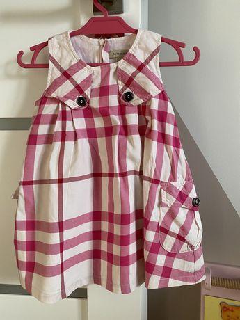 Sukienka Burberry 80 oryginalna