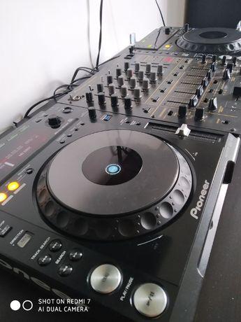 Konsola Pionner CDJ 850 x2 DJM 600