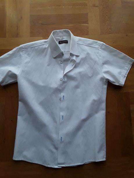 Koszula chłopięca krótki rękaw 152