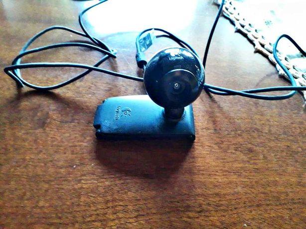 Webcam Logitech (Cabo USB)