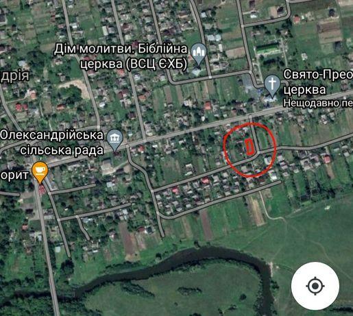 Земельна ділянка с.ОЛЕКСАНДРІЯ