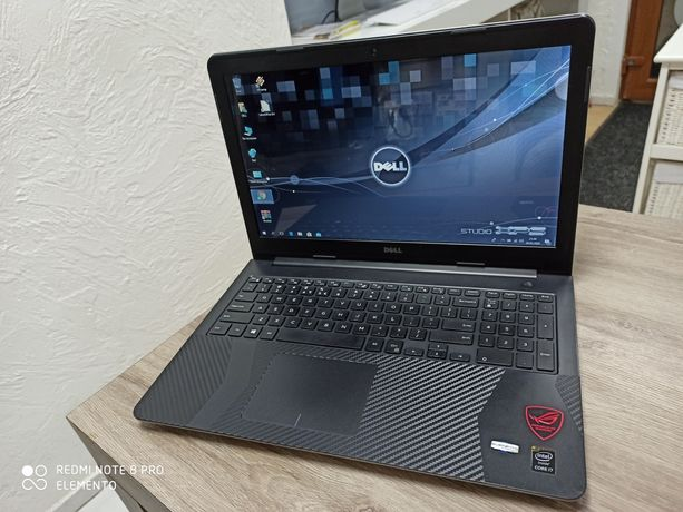 Stylowy i Mocarny Dell Inspirion 15 i7/ 16 GB RAM/512 SSD / WIN 10 #