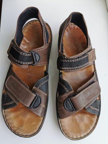 """Кожаные босоножки, сандалии """"Rieker"""""""