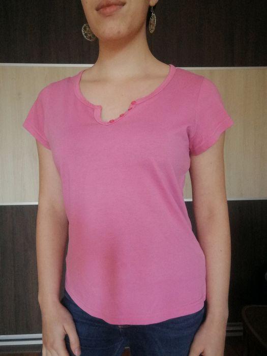 Różowa koszulka z krótkim rękawem Białystok - image 1
