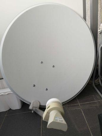 antena satelitarna 85cm + konwerter
