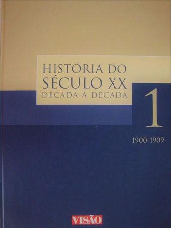 Colecção de 10 volumes da História do Século XX - Década a Década