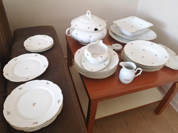 Porcelana , zestaw obiadowy marki Giesche