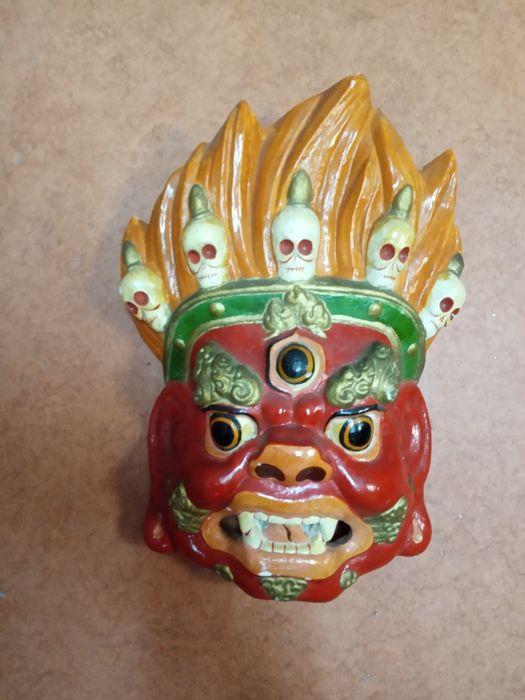Монгольская маска оригинальная Киев - изображение 1