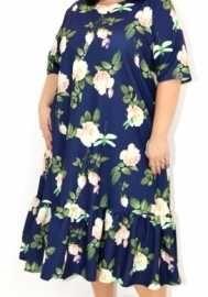 Новое (с этикеткой) качественное трикотажное платье