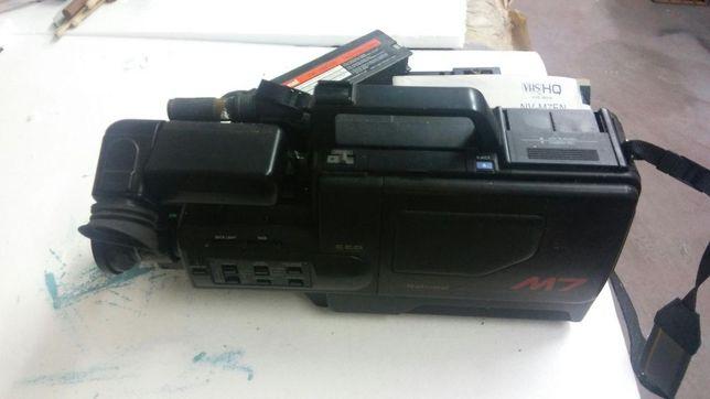 Vintage Camera Filmar National VHS colecção