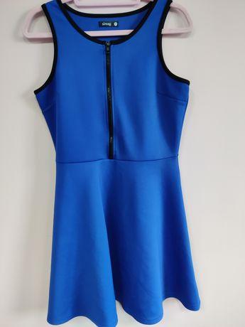 Sukienka XL Chabrowa