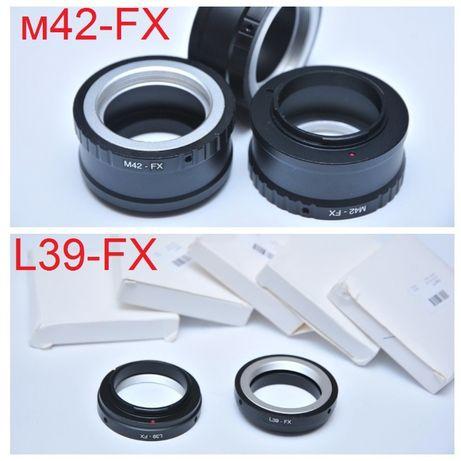 L39 M42 FX Адаптер Fujifilm Fuji X-Pro1 X-E1 X-E2 X-M2 X-M байонет X