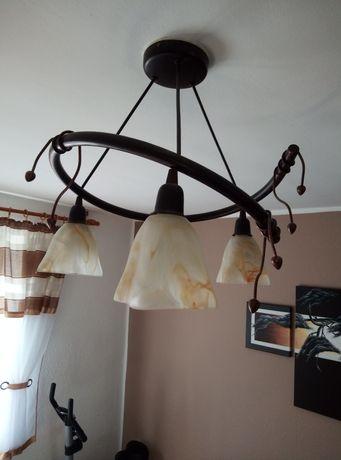 Lampa metalowa pokojowa