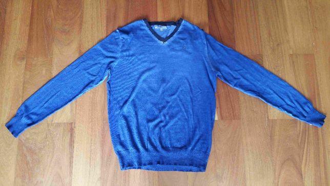 Nowy sweter, pulower firmy Poolman rozmiar M niebieski morski