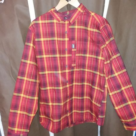Męska koszula flanelowa Jack Wolfskin MAITLAND II SHIRT LS roz M
