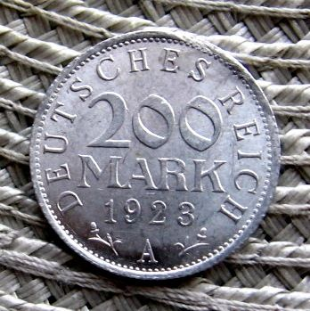 Niemcy 200 Marek 1923r A--11 szt