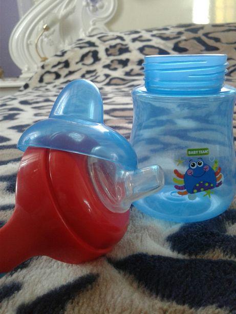 Поїльник непроливайка бутилка дитяча