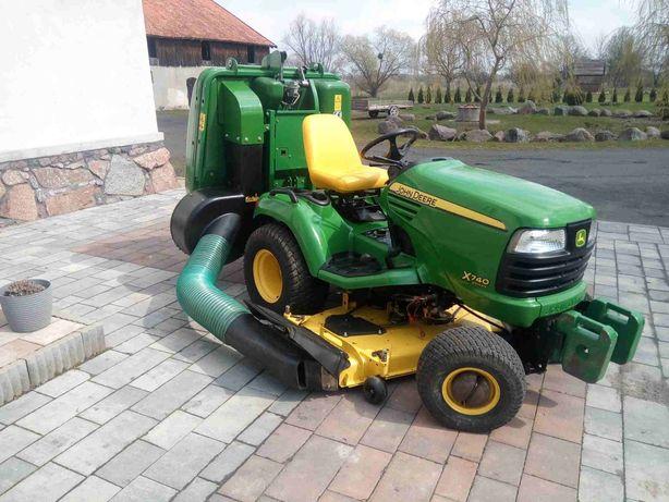 Kosiarka traktorek John Deere x740