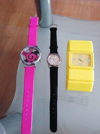 3 piękne  zegarki