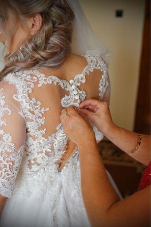 Вксільне плаття. Свадебное платье