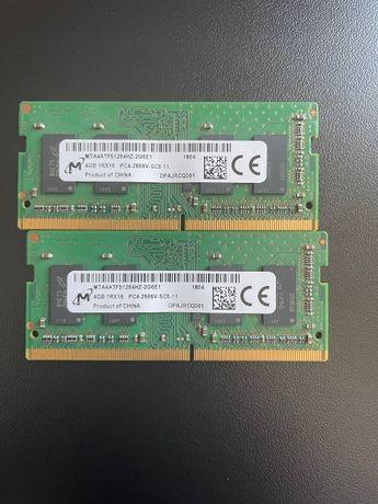 Оперативна пам'ять до ноутбука компанії Micron (SO-DIMM)
