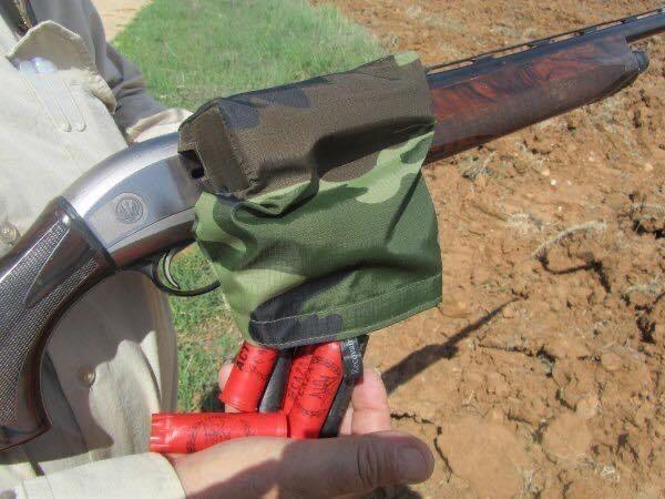 Saco apanha recolhe cartuchos caça semi automatica