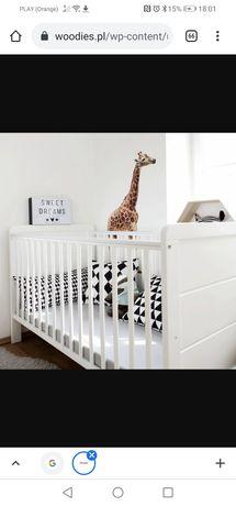 Łóżeczko niemowlęce Woodies Modern Cot 120×60