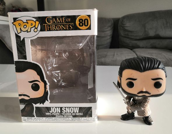 Figurka FUNKO POP! Jon Snow 80 - Game of Thrones (Gra o Tron)