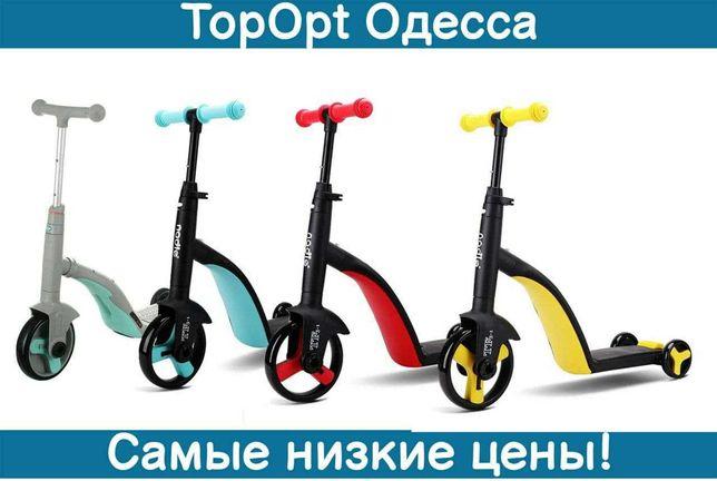 Самокат детский 3 в 1 Best Scooter S868 Велосипед, с музыкой 8 мелодий
