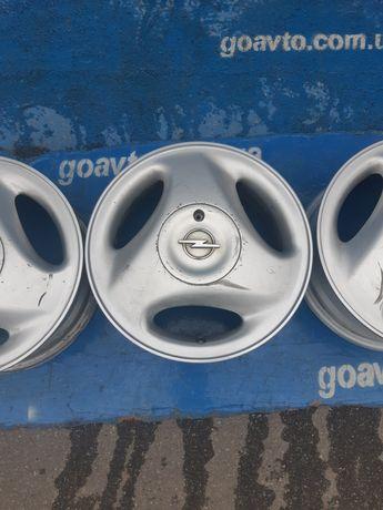 GOAUTO комплект дисков Opel Chevrolet 4/100 r14 et49 5.5j dia56.6 в ид