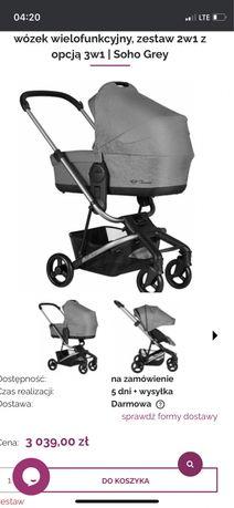 Wózek wielofunkcyjny Easywalker Charley by mini wersja premium