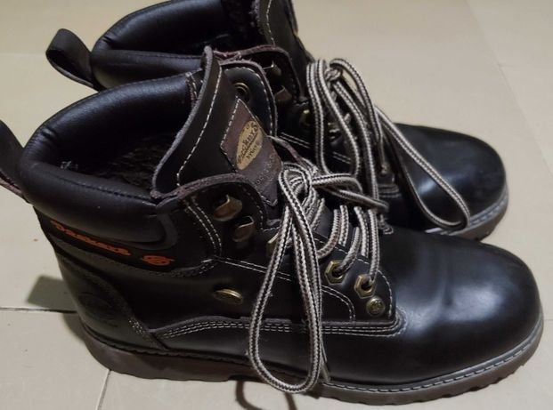 ботинки зимние Dockers 38р. 24см. нат. кожа