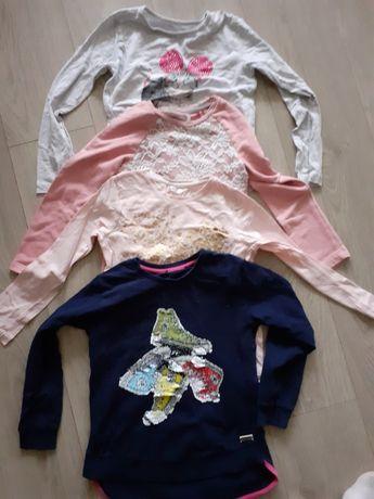 Paka ubrań 122  dla dziewczynki