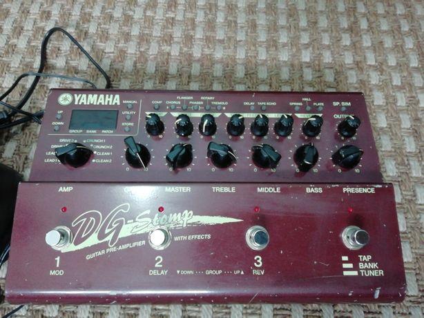 Yamaha DG Stomp | Vox Tonelab SE