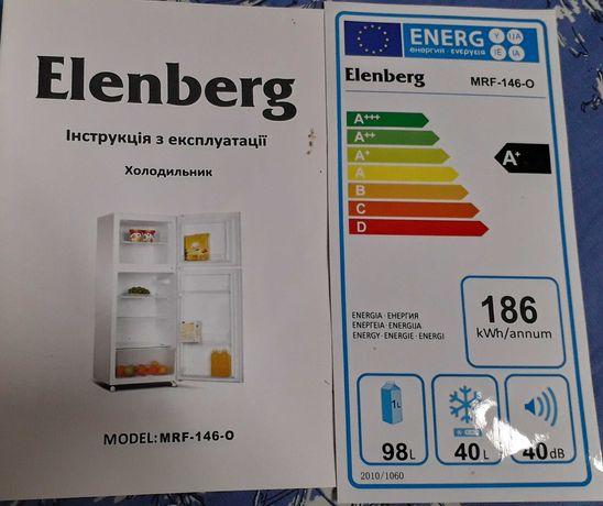 Продам холодильник Elenberg